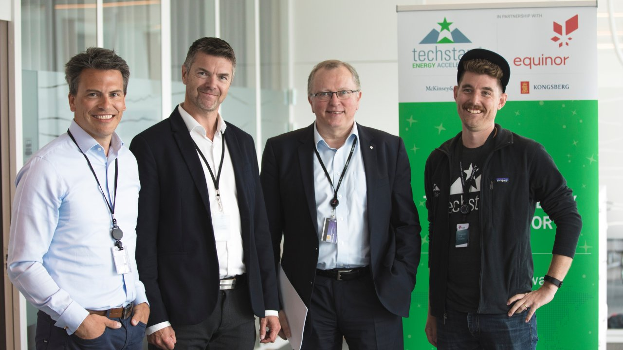 Image from Techstars Screening day at Fornebu